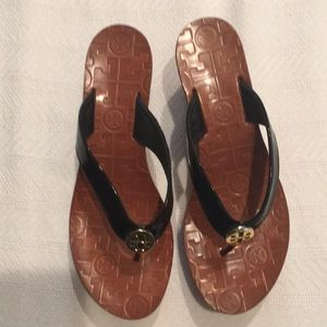 TORY BURCH WEDGES SIZE 6 MADE IN BRAZIL
